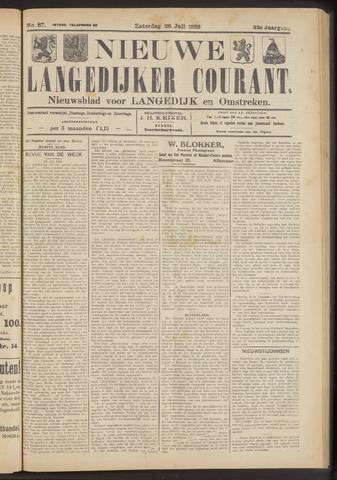Nieuwe Langedijker Courant 1923-07-28