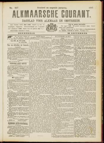Alkmaarsche Courant 1907-09-26