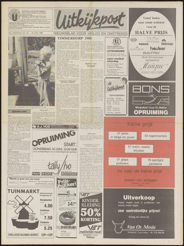 Uitkijkpost : nieuwsblad voor Heiloo e.o. 1988-06-29