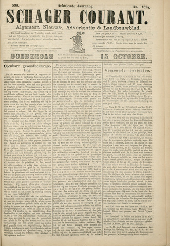 Schager Courant 1874-10-15