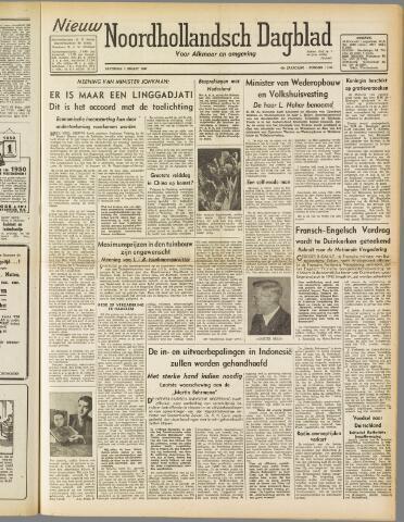 Nieuw Noordhollandsch Dagblad : voor Alkmaar en omgeving 1947-03-01