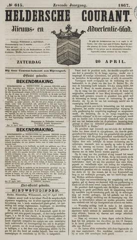 Heldersche Courant 1867-04-20