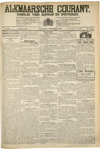 Alkmaarsche Courant 1930-12-01