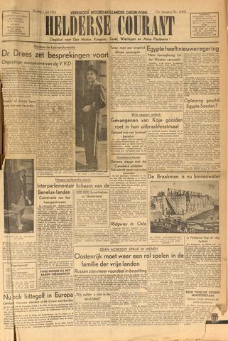 Heldersche Courant 1952-07-01