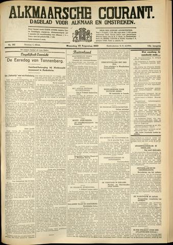Alkmaarsche Courant 1933-08-28