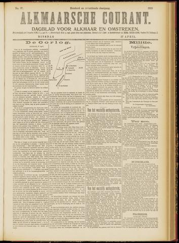 Alkmaarsche Courant 1915-04-27