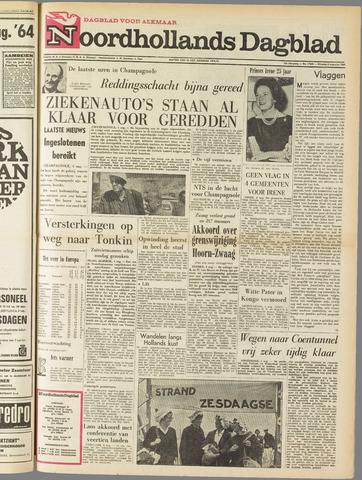 Noordhollands Dagblad : dagblad voor Alkmaar en omgeving 1964-08-04