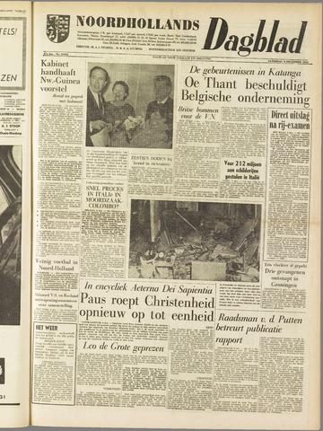 Noordhollands Dagblad : dagblad voor Alkmaar en omgeving 1961-12-09