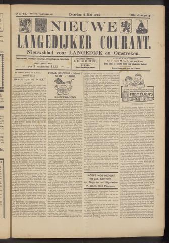 Nieuwe Langedijker Courant 1924-05-03