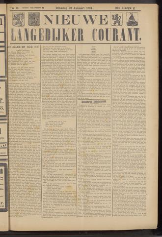 Nieuwe Langedijker Courant 1924-01-22
