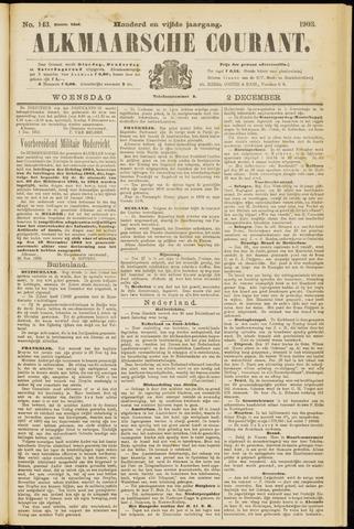 Alkmaarsche Courant 1903-12-02