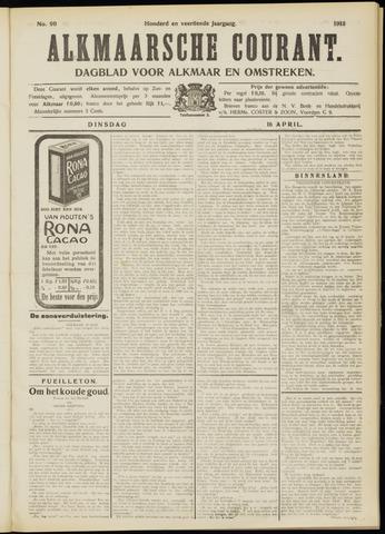 Alkmaarsche Courant 1912-04-16