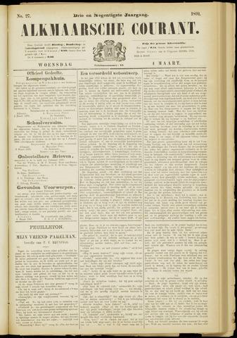 Alkmaarsche Courant 1891-03-04