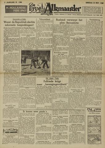 De Vrije Alkmaarder 1948-11-23
