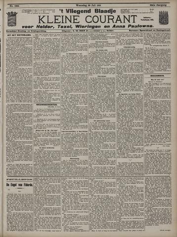 Vliegend blaadje : nieuws- en advertentiebode voor Den Helder 1910-07-20