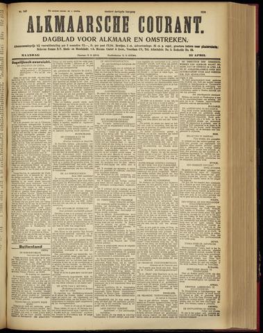 Alkmaarsche Courant 1928-04-23