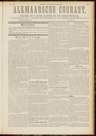 Alkmaarsche Courant 1915-06-24