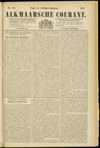 Alkmaarsche Courant 1887-11-06
