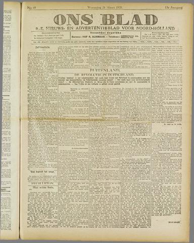 Ons Blad : katholiek nieuwsblad voor N-H 1920-03-24