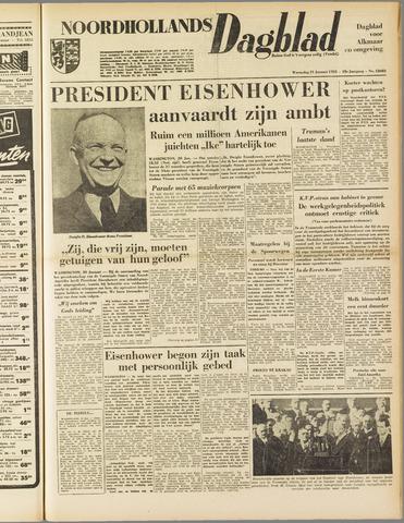 Noordhollands Dagblad : dagblad voor Alkmaar en omgeving 1953-01-21