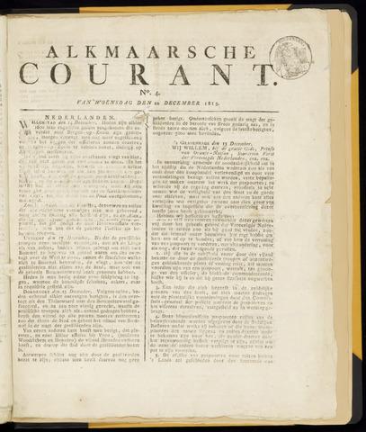 Alkmaarsche Courant 1813-12-22