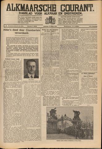 Alkmaarsche Courant 1939-03-18