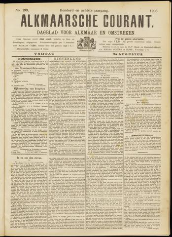 Alkmaarsche Courant 1906-08-24