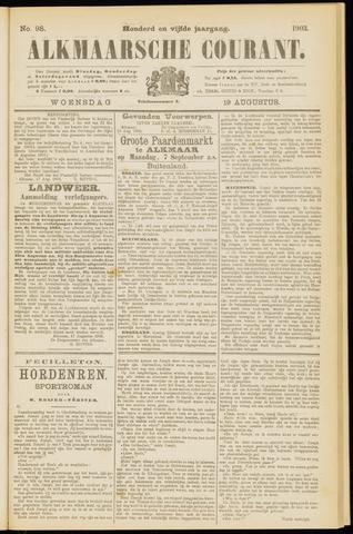 Alkmaarsche Courant 1903-08-19
