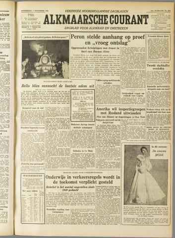 Alkmaarsche Courant 1955-09-01