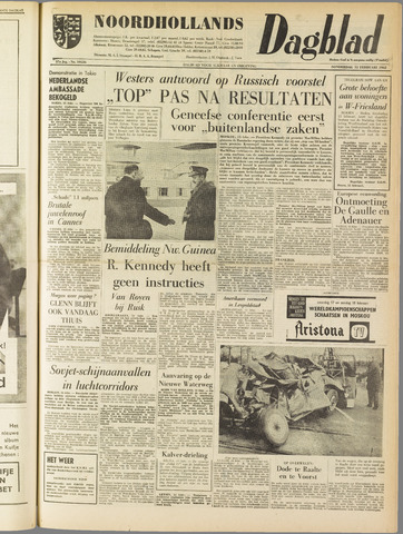 Noordhollands Dagblad : dagblad voor Alkmaar en omgeving 1962-02-15