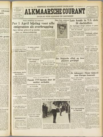 Alkmaarsche Courant 1955-03-29