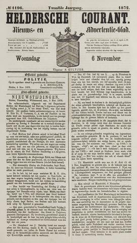 Heldersche Courant 1872-11-06