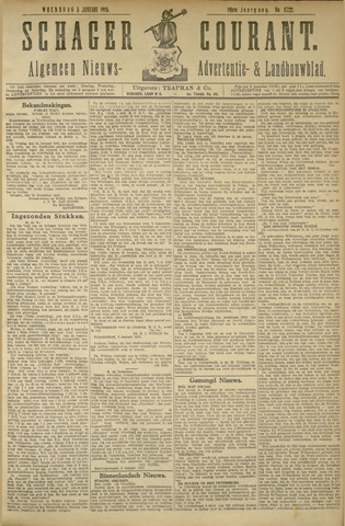 Schager Courant 1916