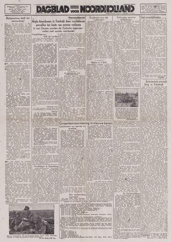 Dagblad Noord-Holland, Schager editie 1944-08-12