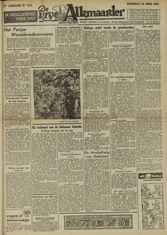 De Vrije Alkmaarder 1949-04-20