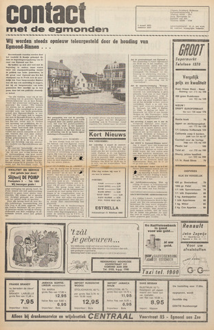 Contact met de Egmonden 1972-03-01