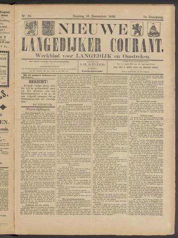 Nieuwe Langedijker Courant 1898-12-25