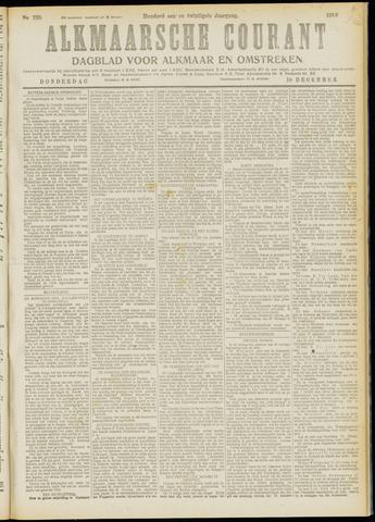 Alkmaarsche Courant 1919-12-18