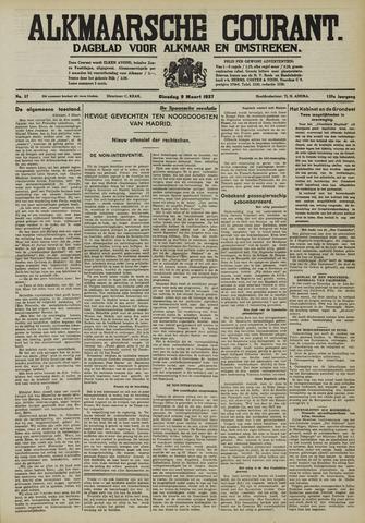 Alkmaarsche Courant 1937-03-09