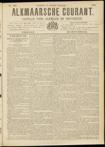 Alkmaarsche Courant 1906-09-28