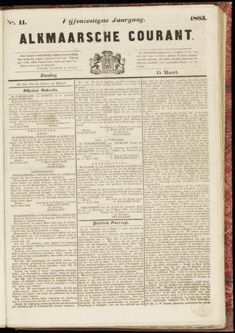 Alkmaarsche Courant 1863-03-15
