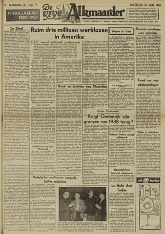 De Vrije Alkmaarder 1949-06-18