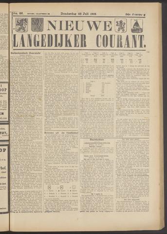 Nieuwe Langedijker Courant 1925-07-23