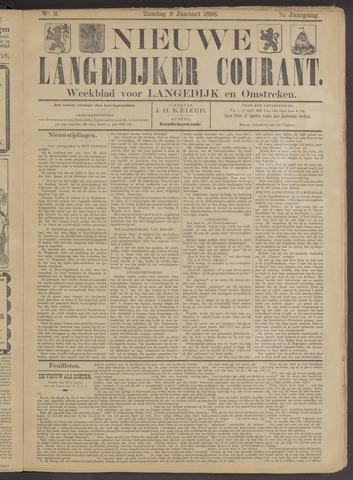 Nieuwe Langedijker Courant 1898-01-09