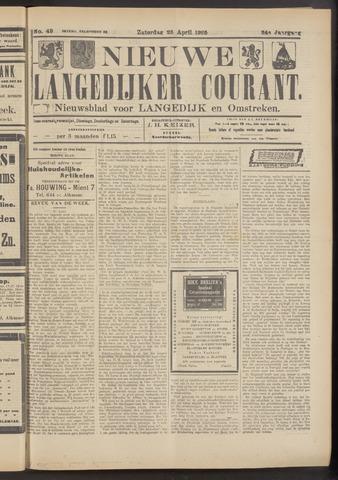 Nieuwe Langedijker Courant 1925-04-25