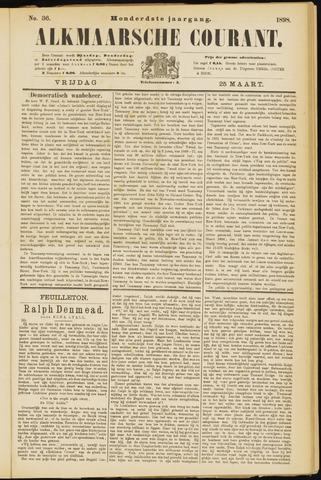 Alkmaarsche Courant 1898-03-25
