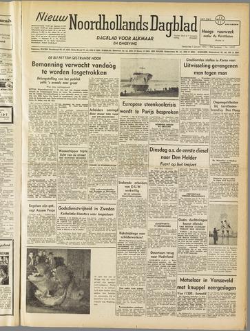 Nieuw Noordhollandsch Dagblad : voor Alkmaar en omgeving 1952-01-03