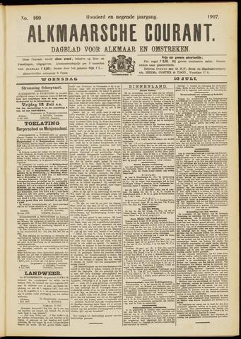 Alkmaarsche Courant 1907-07-10