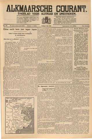 Alkmaarsche Courant 1939-07-07