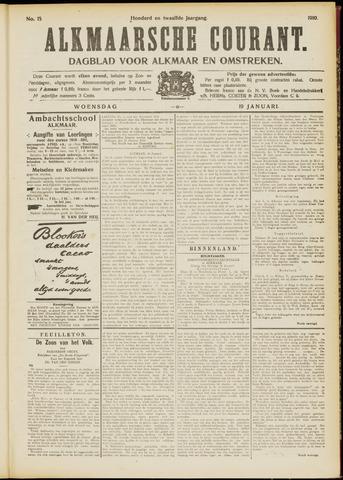 Alkmaarsche Courant 1910-01-19